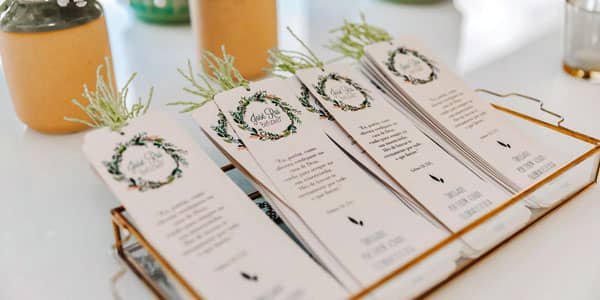 Bookmarks favors - YSW