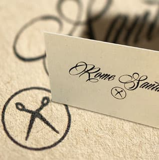 Natural Paper Business Cards by YSW